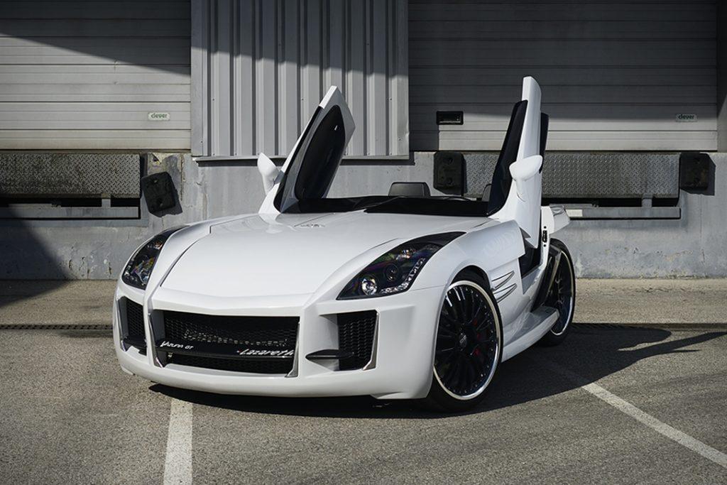 No es un coche, ni una motocicleta, pero de alguna manera es legal en las carreteras: Te presentamos la mega increíble Lazareth Wazuma GT