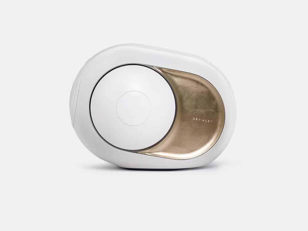 Gold Phantom by Devialet: Este mega potente altavoz recubierto de Kevlar ofrece 4500 vatios de sonido