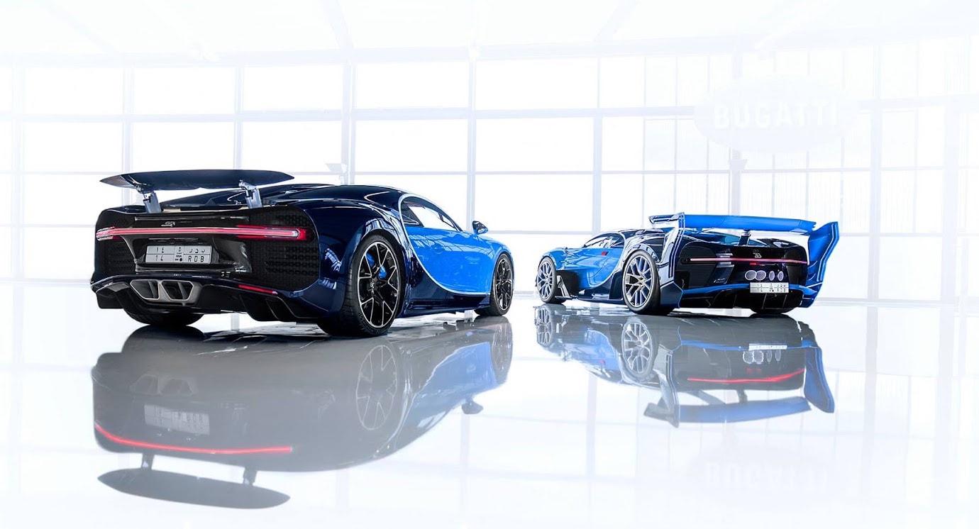 Bugatti Chiron Y El Vision Gran Turismo