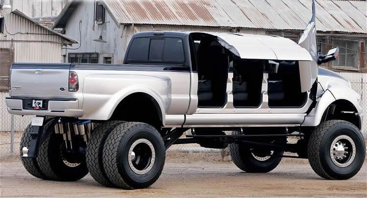 esto se ve interesante s per ford f650 de 6 ruedas y con puertas de mariposa. Black Bedroom Furniture Sets. Home Design Ideas