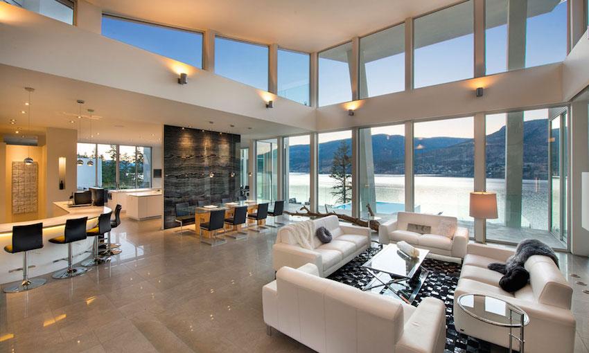 Esta Moderna Residencia En Lago Okanagan Puede Ser Tuya Por $10.5 Millones