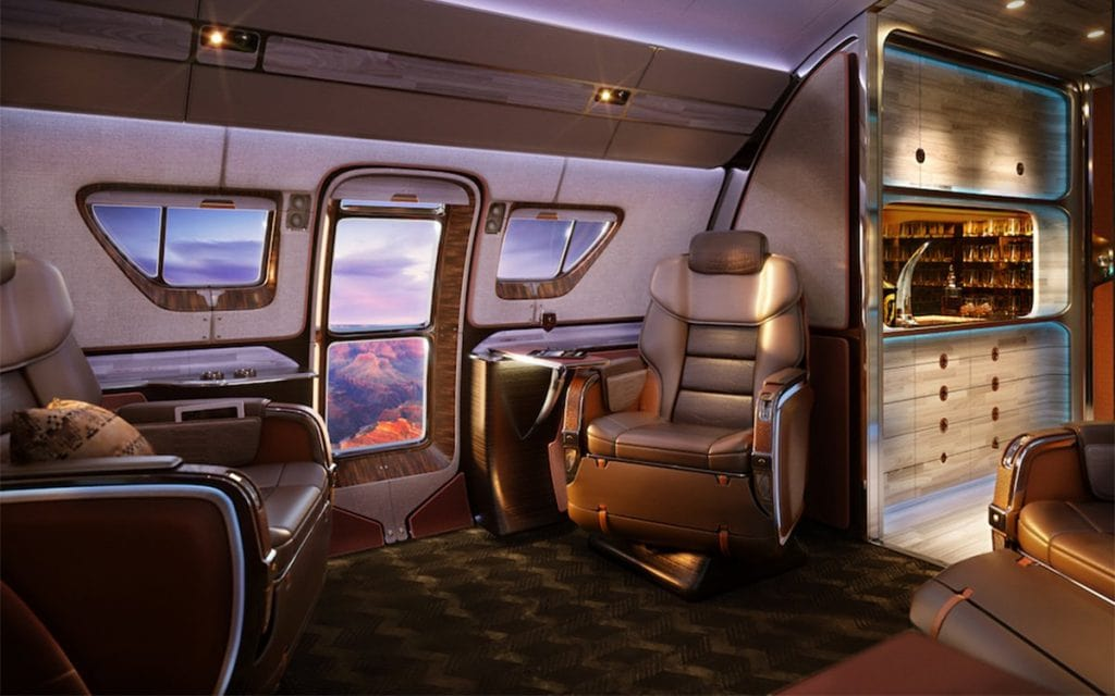 Skyranch One Es La Cabina De Avión Más Opulenta Jamás Creada