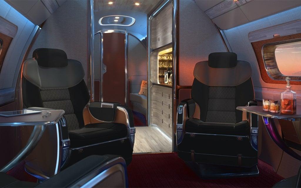La Cabina De Avión Más Opulenta Jamás Creada