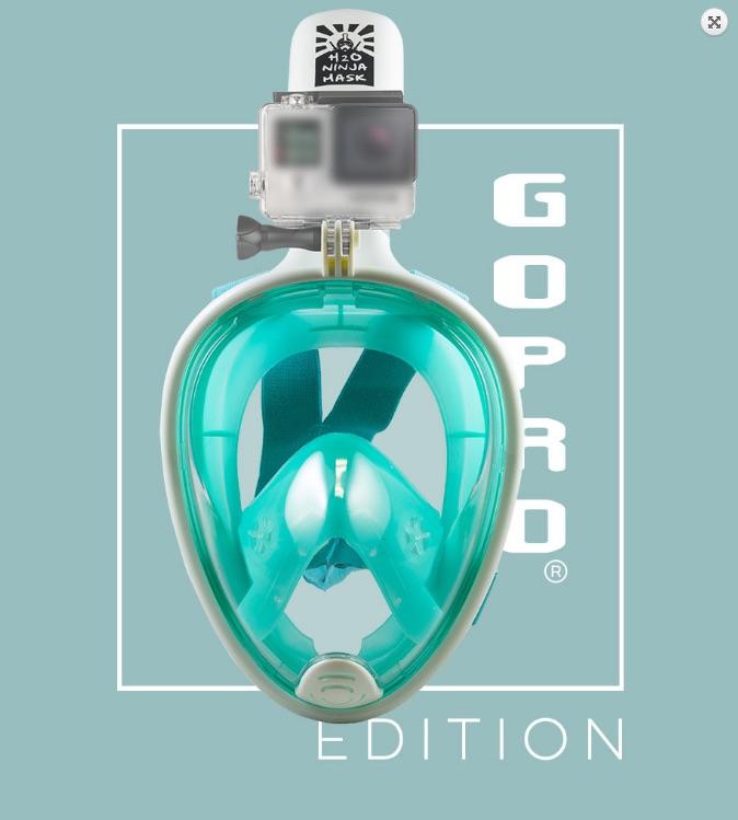 H2O Ninja: Esta Revolucionaria Máscara De Snorkeling Cubre Tu Rostro Completamente