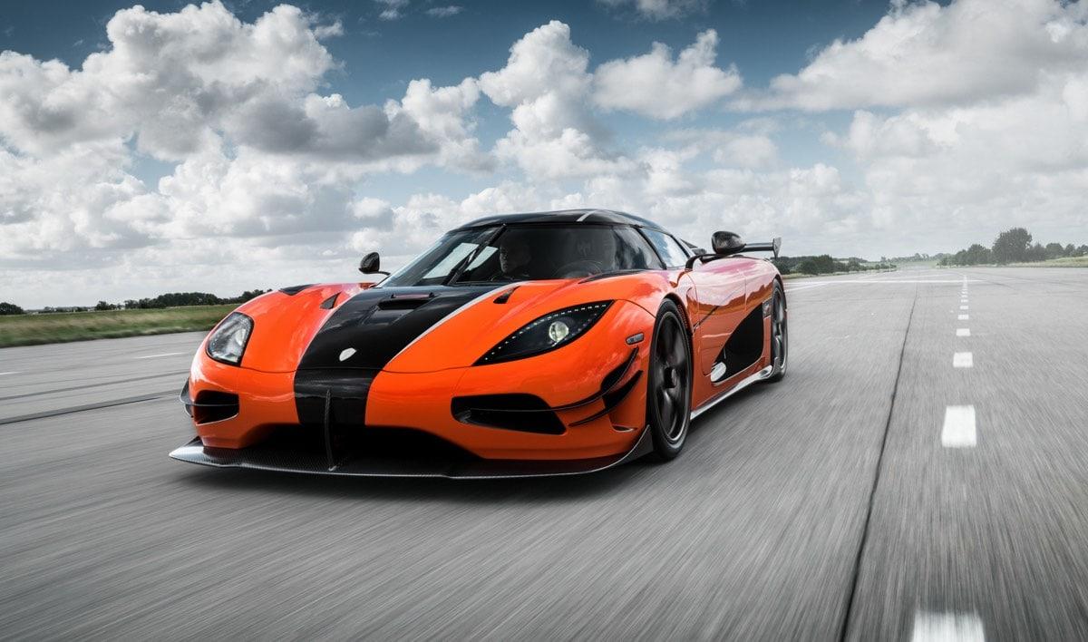 Agera XS: Koenigsegg Presenta Esta Bestia Naranja Y Negra
