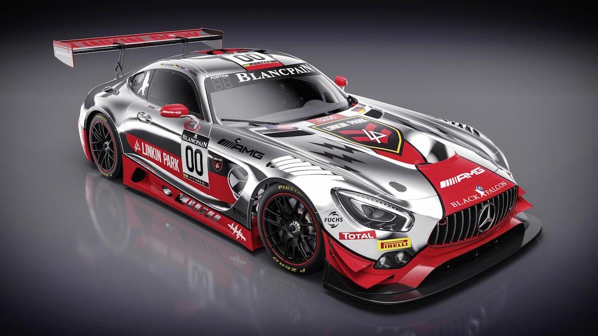 Echa Un Vistazo A Este Increíble Mercedes AMG GT3 Por Linkin Park