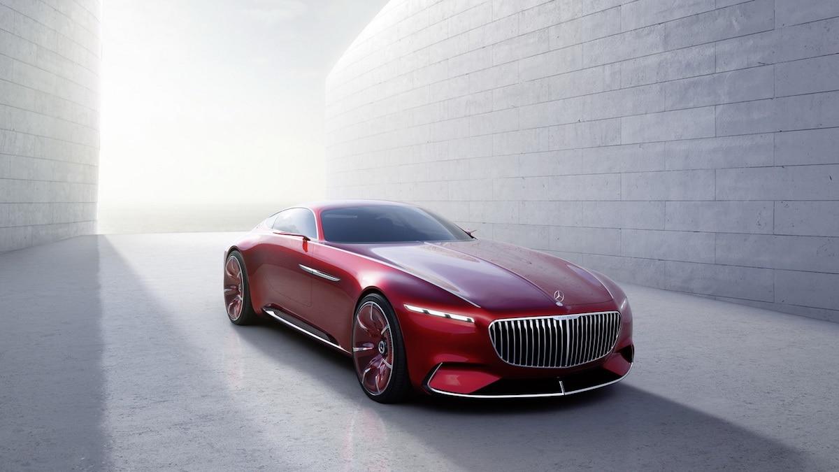 El Mercedes-Maybach Vision 6 Es Como Una Enorme Nave Espacial De Lujo