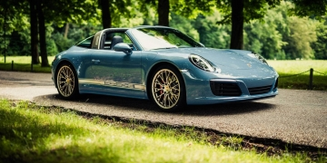 911 Targa 4S Exclusive Design Edition: Echa Un Vistazo Al Nuevo Clásico De Porsche