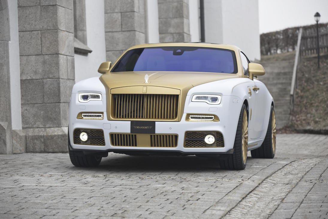 Rolls-Royce Wraith Recibe Un Toque Dorado Con El Mansory Palm Edition 999
