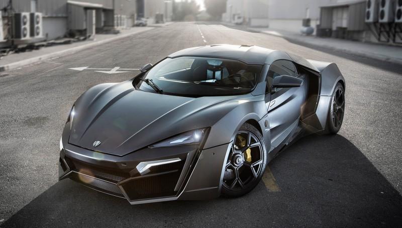 Este Par De Bestias De W Motors Viajaron Desde Dubái Para Deslumbrar A Todos En El Monterey Car Week