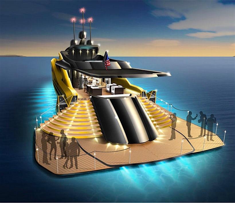 Settantanove Concept: Un Moderno, Lujoso Y Ecológico Súper Yate Del Futuro