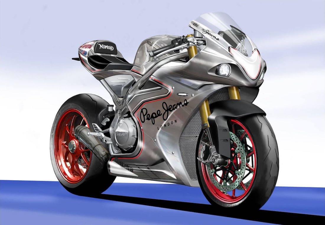 NORTON Motorcycles Dio A Conocer Los Planes De Construcción De Esta BESTIA De ¡200 Caballos De Fuerza! Para Este Otoño