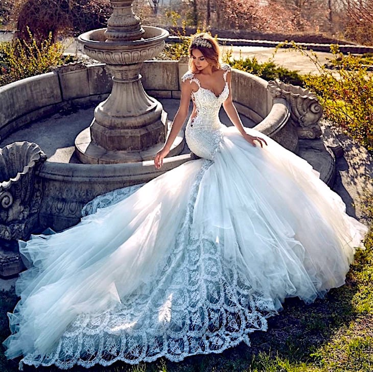 "Colección Atemporal Primavera 2017 De Galia Lahav ""Le Secret Royal"""