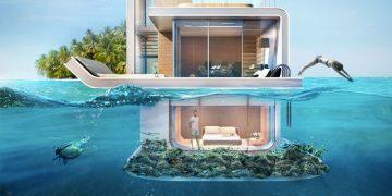 Las villas flotantes más lujosa del mundo
