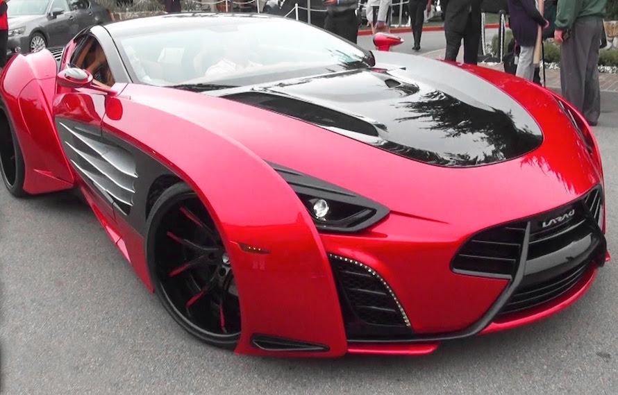 Super coches durante Pebble Beach Concours d'Elegance 2016
