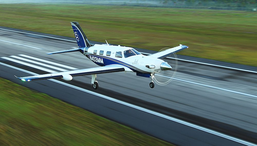 El moderno avión Piper Aircraft M600 de turbohélice ya está en el mercado a un precio de $2.85 millones