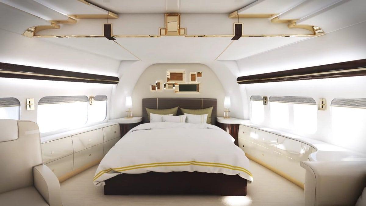 Haz un tour por el interior de estos increíbles cinco jets privados que te harán soñar