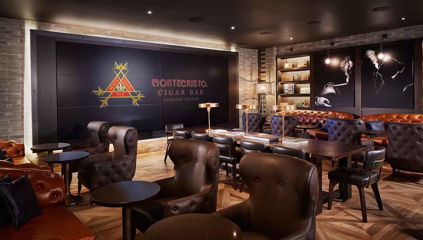 """Este bar de puros """"Montecristo"""" es la nueva atracción en Las Vegas"""
