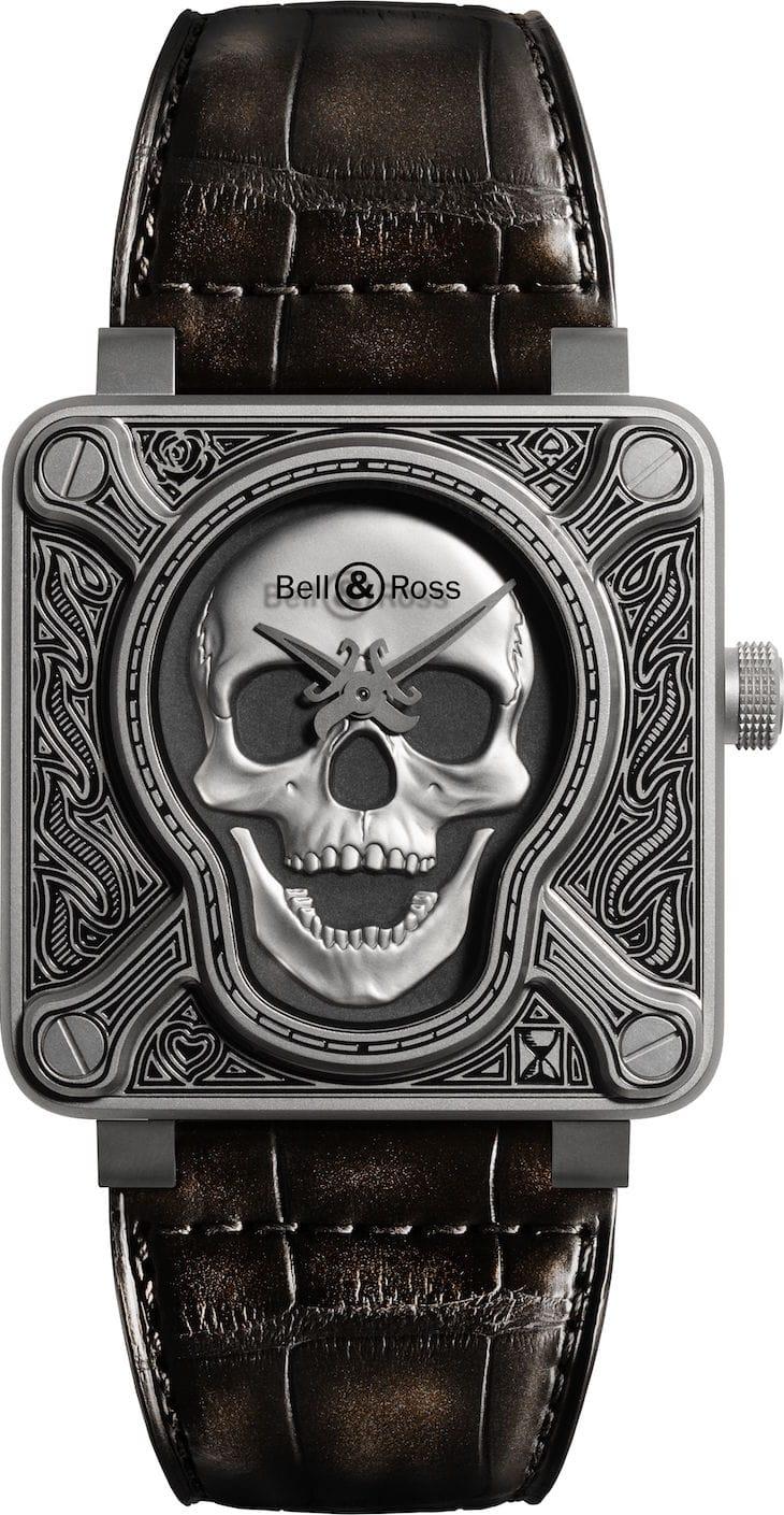 Bell & Ross Burning Skull: EL RELOJ TALISMÁN