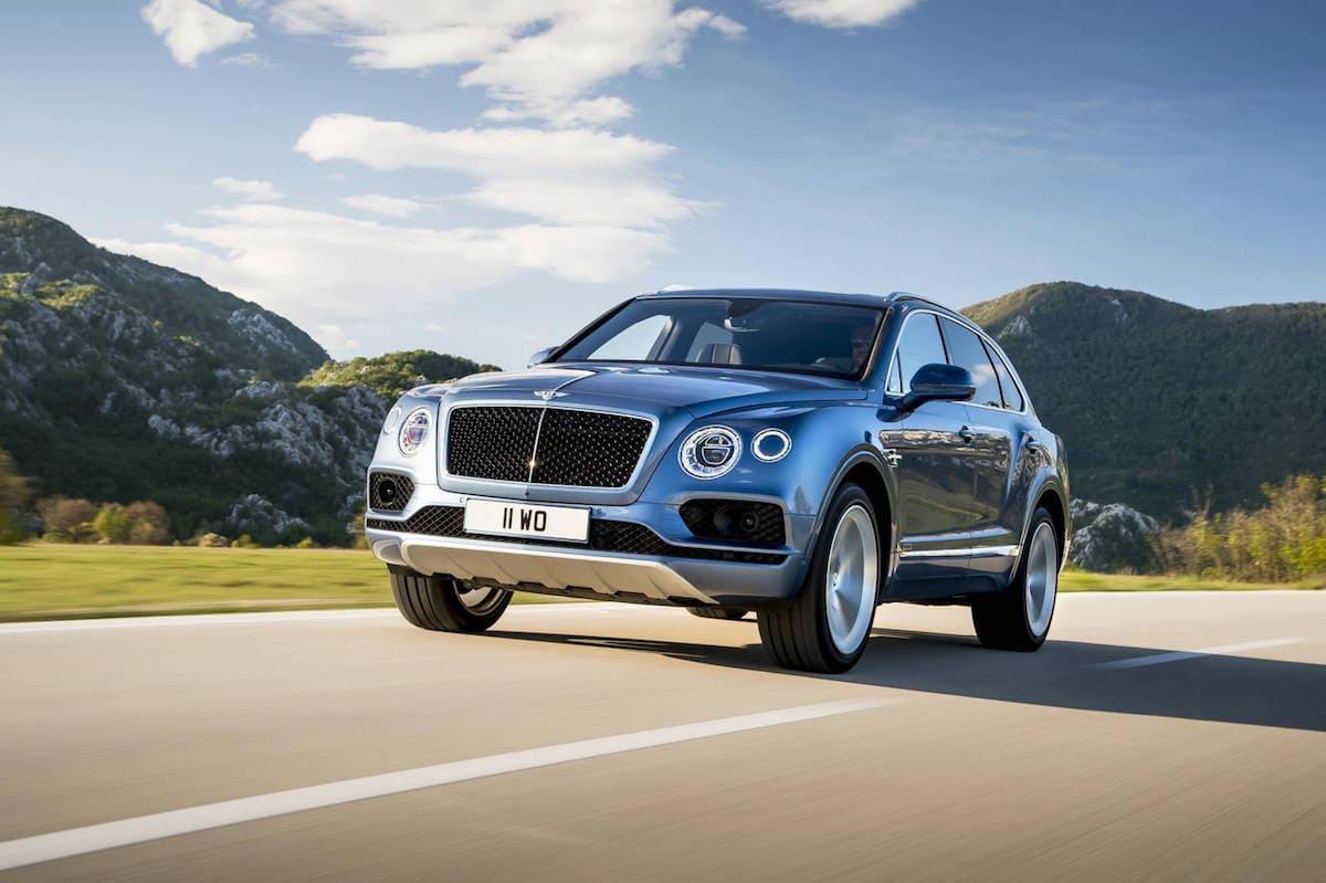 Este Bentayga 2017 será el primer Bentley SUV diesel