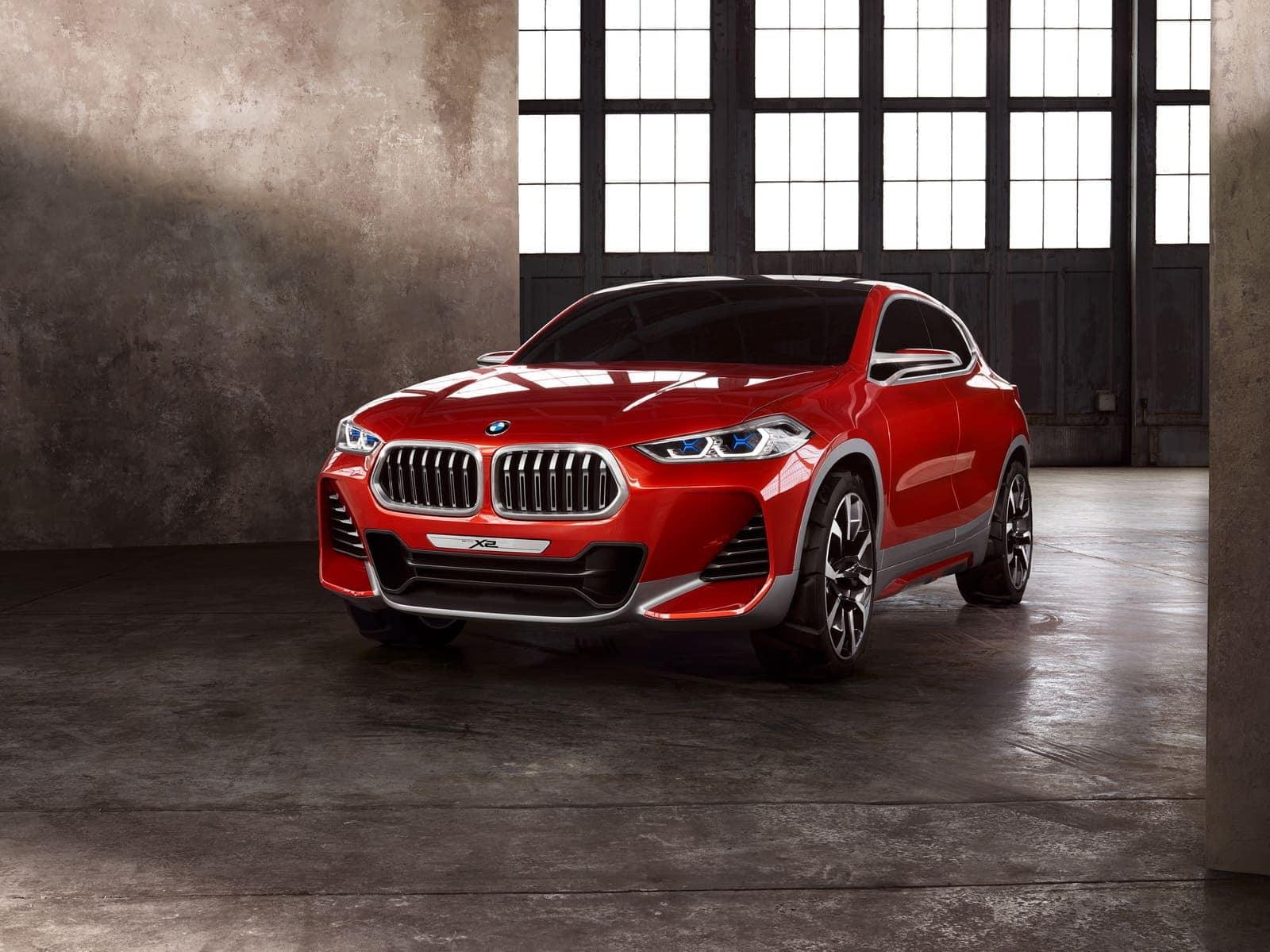 BMW X2 Concept, el elegante SUV presentado en el Salón del Automóvil de París con un diseño totalmente original