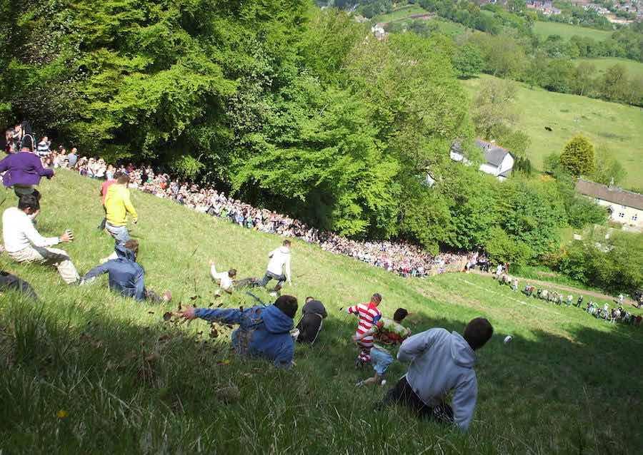 Festival del queso rodante