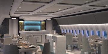 Crystal AirCruises presenta diseño elegante para su lujoso JUMBO Boeing 777