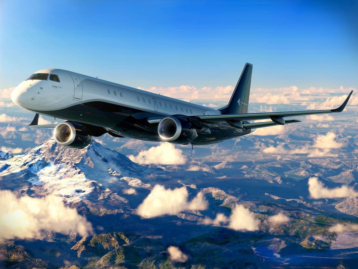 Así luce un jet Embraer Lineage 1000E con el increíble diseño interior Skyranch One valorado en $75 millones