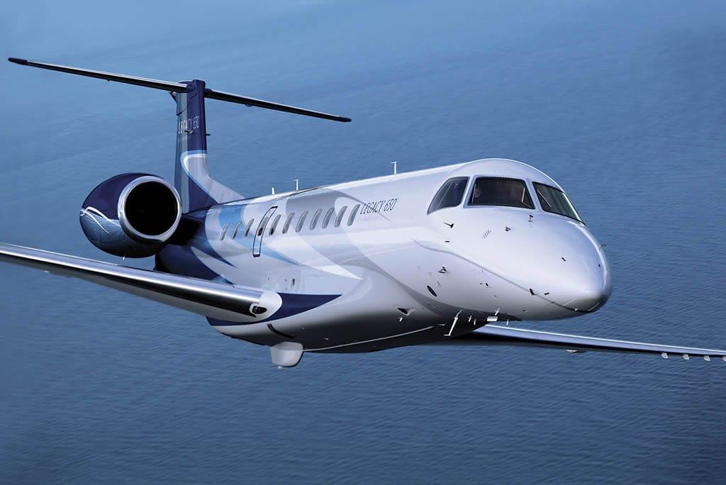 """Alquila Un Avión """"Embraer Legacy 650"""" Para Obtener Lo Último En Privacidad"""