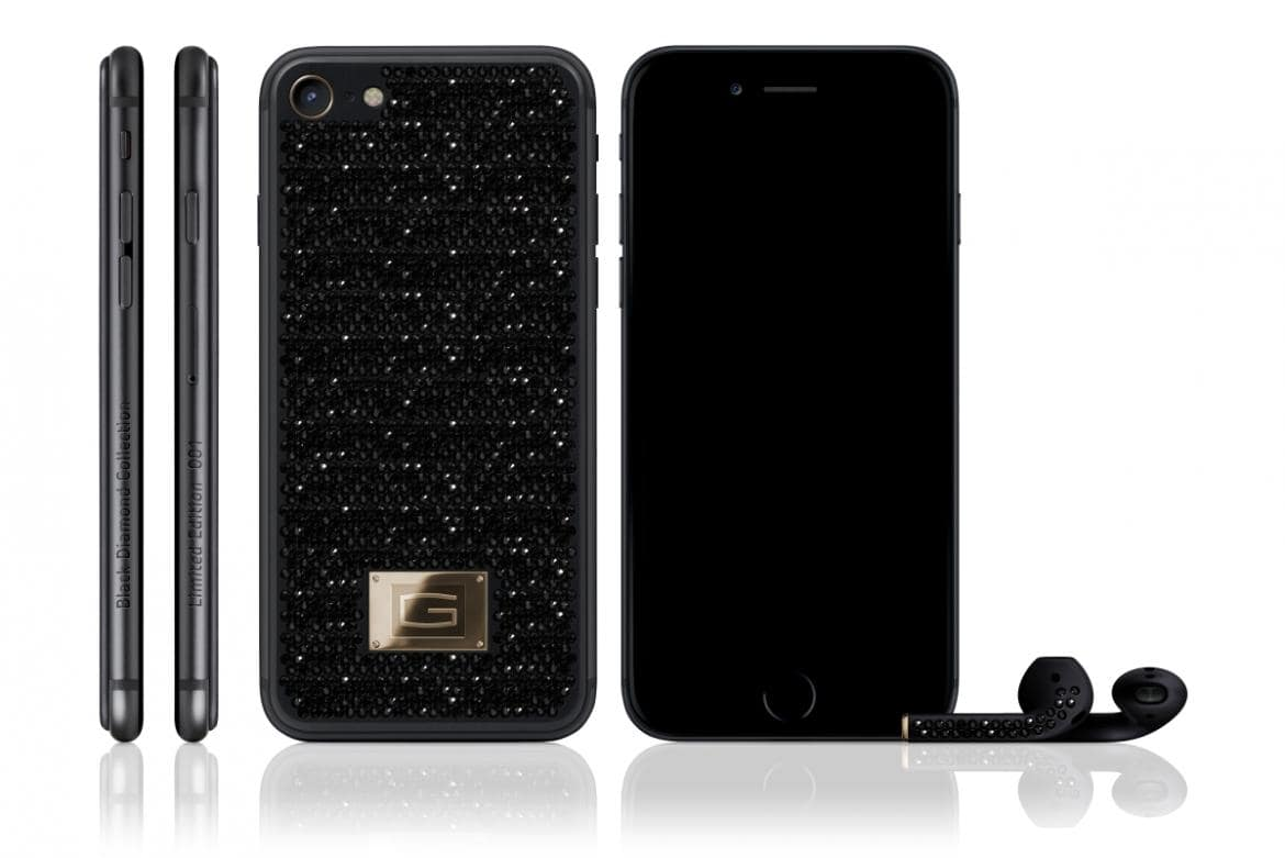 ¿Comprarías un exclusivo iPhone 7 con incrustaciones de diamante negro por $500.000?