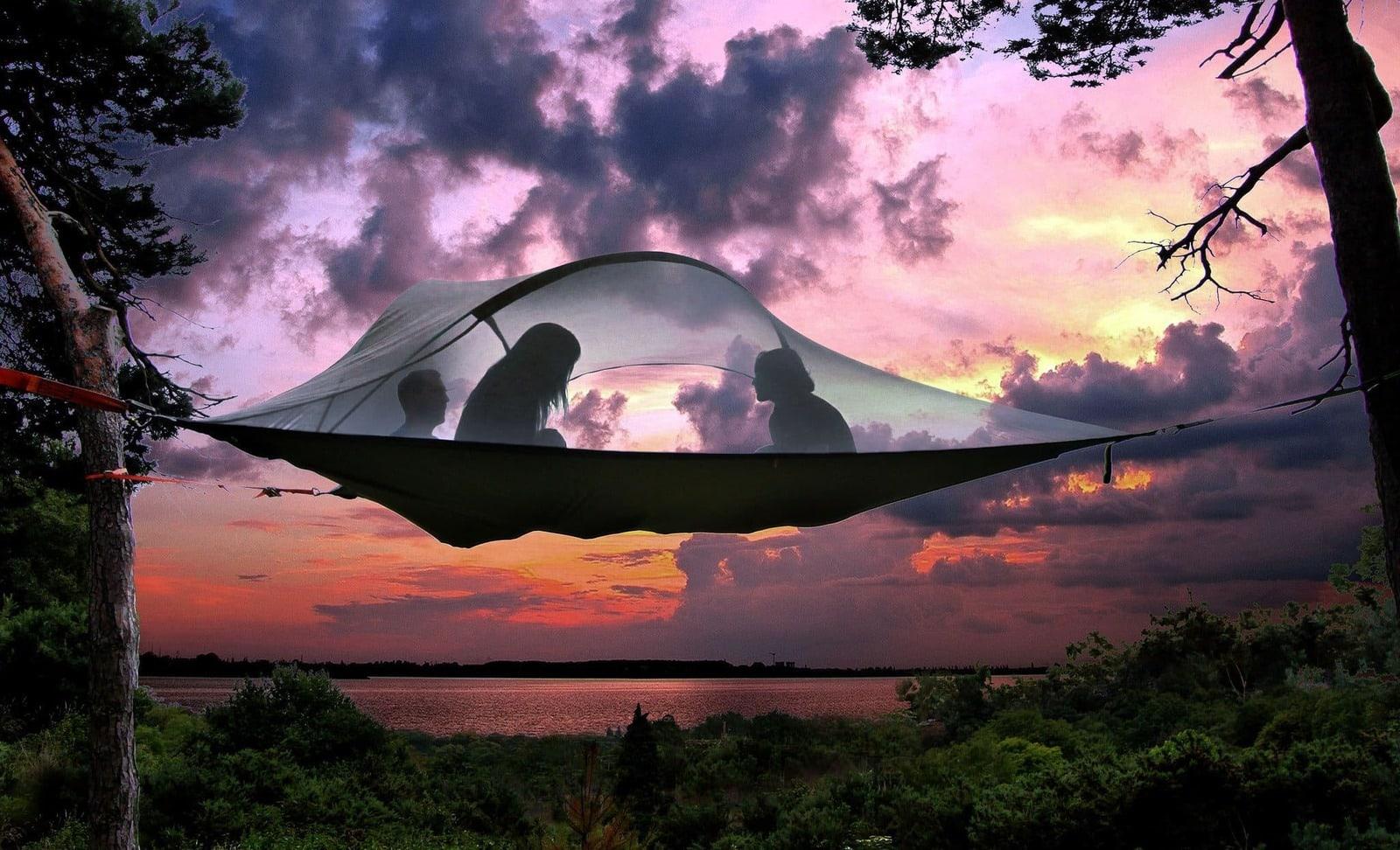 Tentsile: La ingeniosa hamaca que puedes instalar en los árboles es un sueño hecho realidad para los aventureros