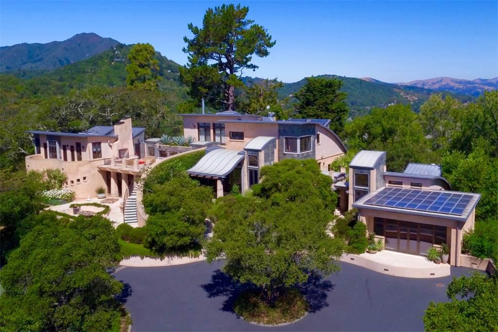 Esta increíble casa de lujo de filosofía ecológica en el Área de la Bahía de San Francisco está en el mercado en $29 millones