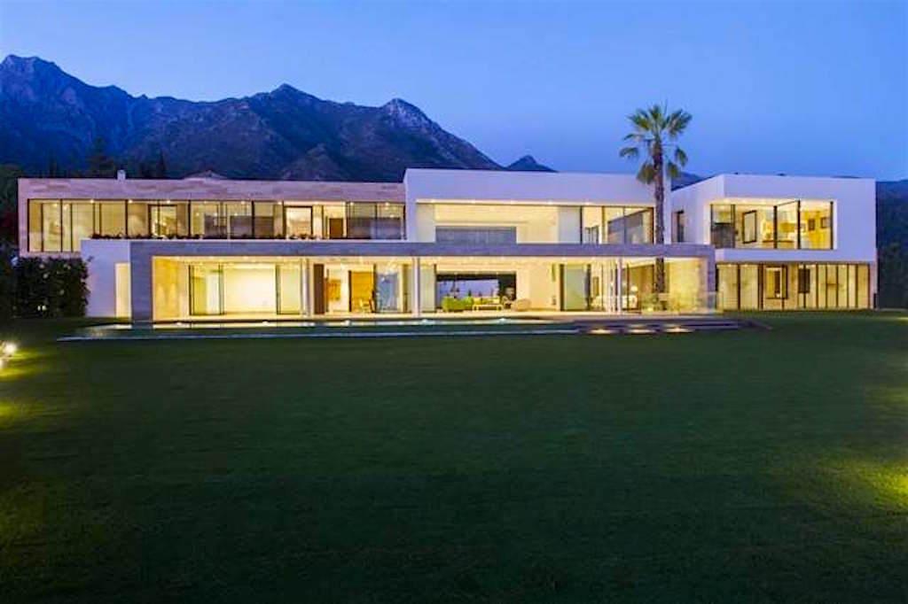 Esta recién construida moderna mansión en Marbella, España, a la venta por €10 millones