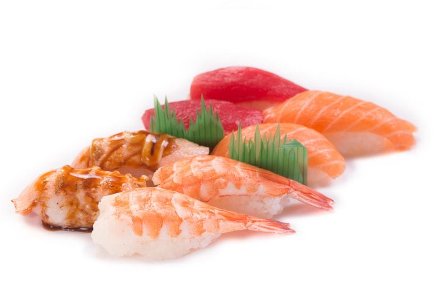 Come los Nigiri con ¡Propiedad!