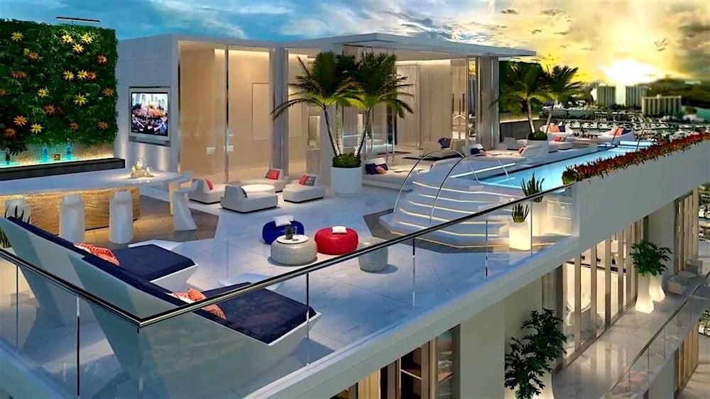 """Ponen a la venta los ultra lujosos Penthouses en el rascacielo """"Parque Tower"""" en Miami"""