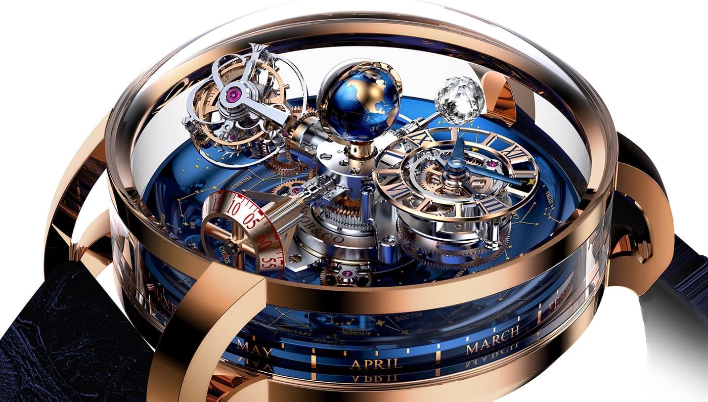 El increíble reloj Astronomia Sky de Jacob & Co. se conecta con las estrellas – Precio: $700.000