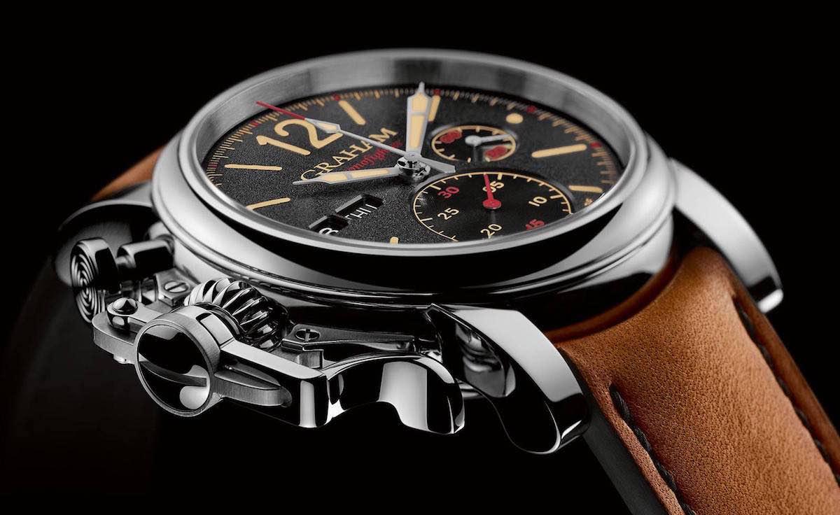 """Este increíble reloj """"Graham Chronofighter Vintage"""" está listo para la acción"""
