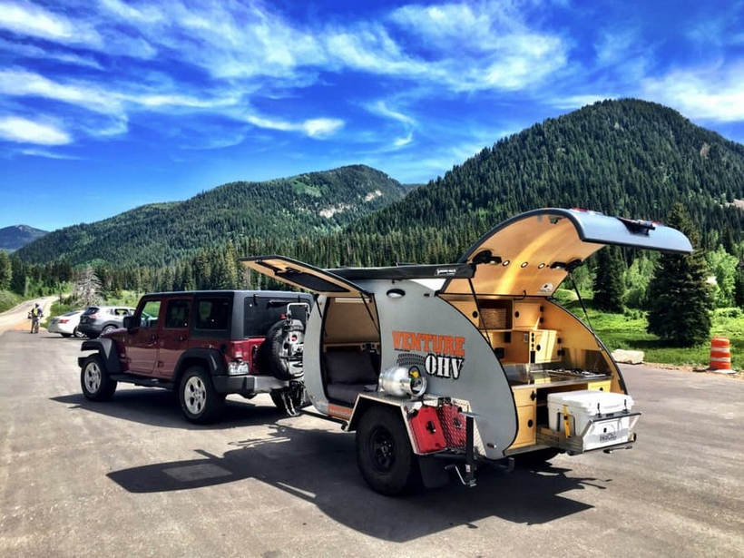 Venture OHV Rough Ridge Por Inka Outdoor: Este Remolque Caravana Está Dispuesto A Todo