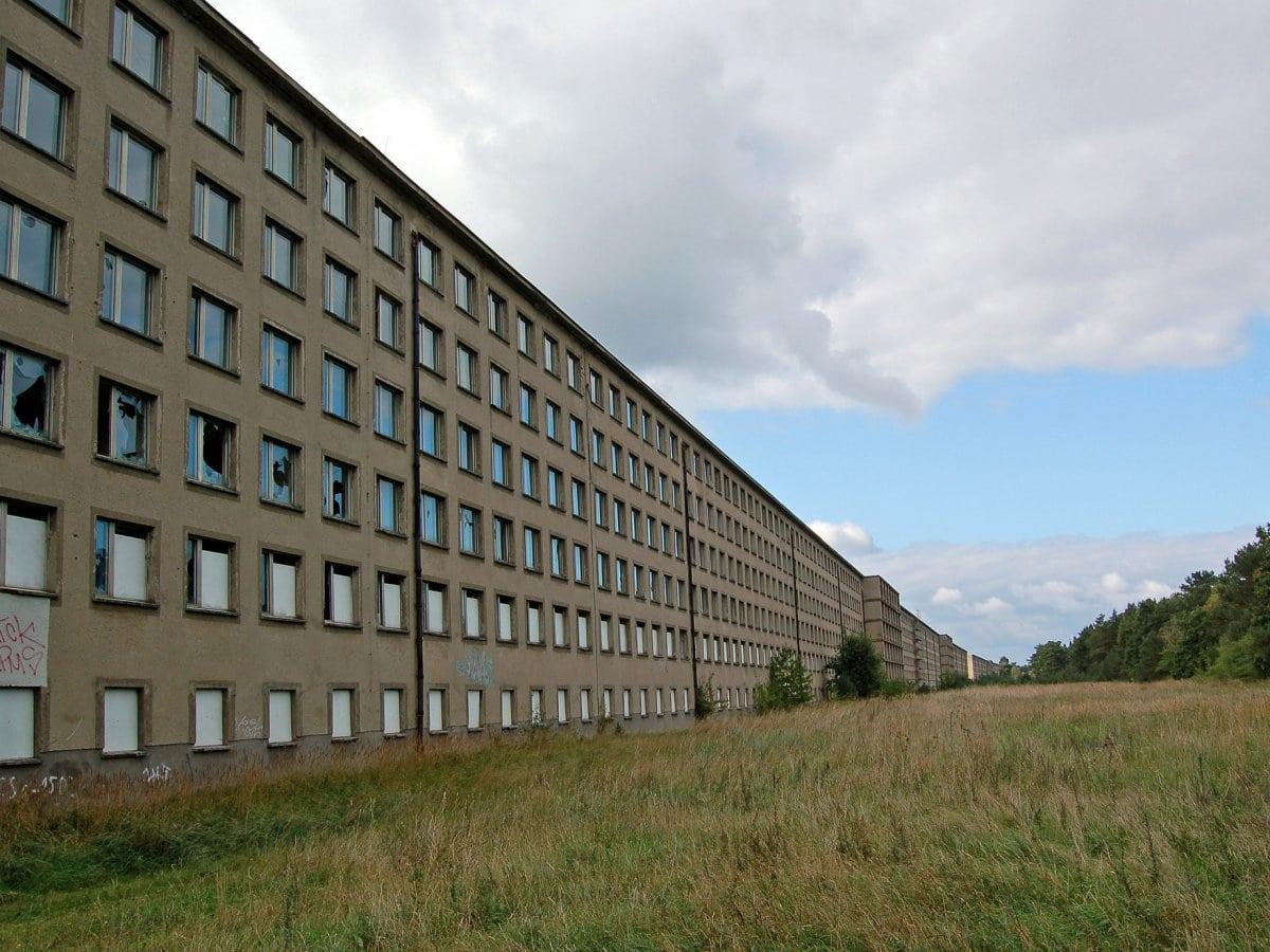Colosal estructura nazi construida por Adolf Hitler de ¡4.3 kilómetros! se convertirá en un complejo turístico de lujo