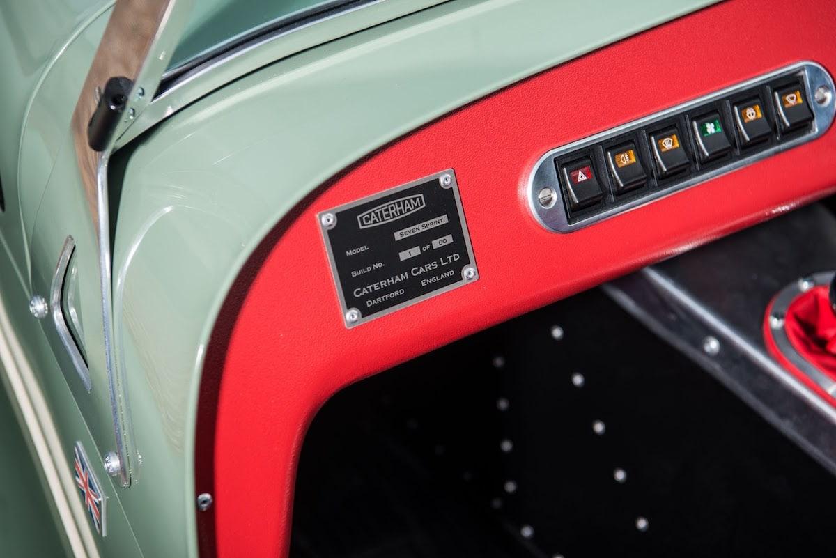 Con el Seven Sprint, Caterham Cars celebra 60 años de increíbles diseños