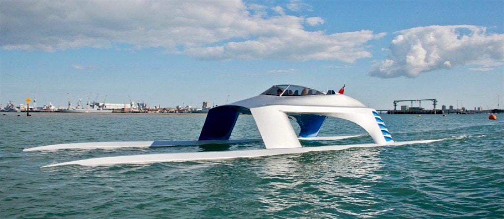 No Te Pierdas Este Increíble Hidrodeslizador De Mar: El Súper Deportivo GLIDER SS18