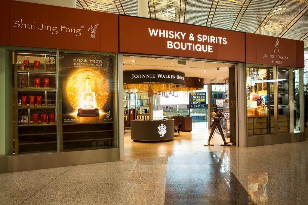 Ahora podrás disfrutar de un buen Johnnie Walker en los aeropuertos de Beijing y en Incheon