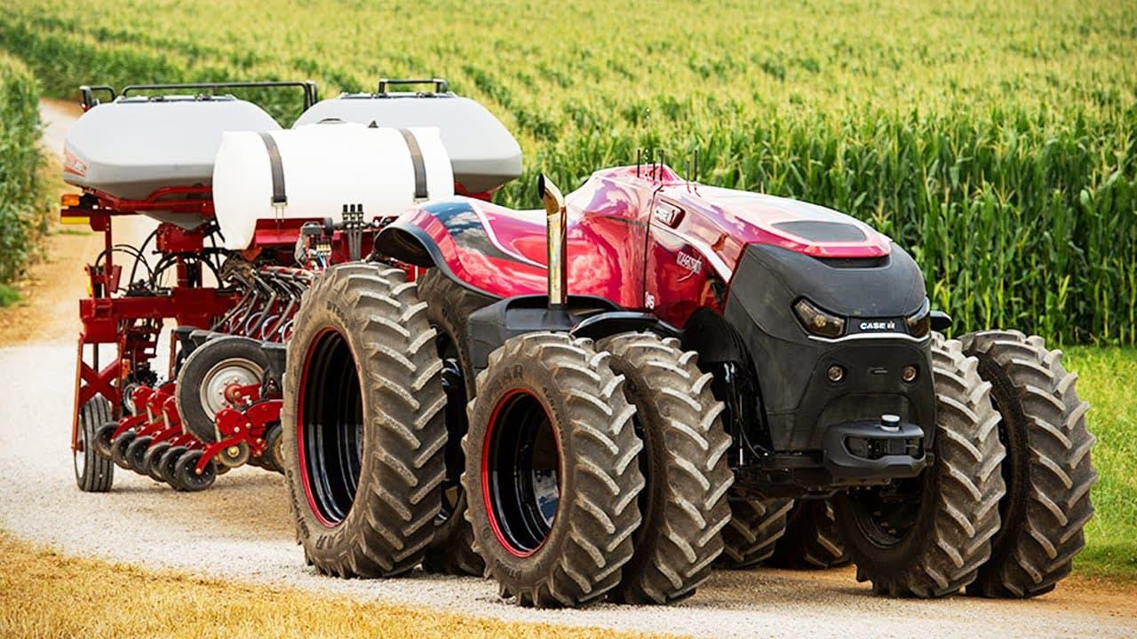 El tractor de conducción autónoma de Case IH es el Terminator de las granjas