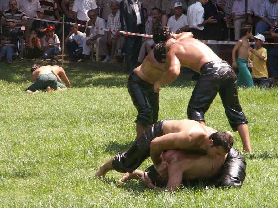 Festival de lucha en aceite de Kırkpınar