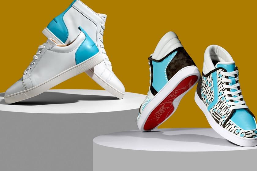 Christian Louboutin se asoció con Sporty Henri para una nueva colección de zapatillas deportivas