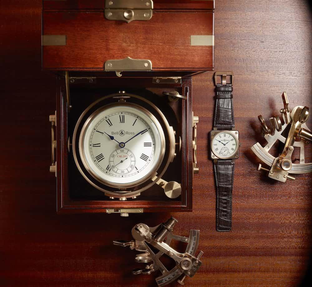 """Bell & Ross nos deleita con su nueva colección de relojes de lujo """"Instrument de Marine"""" – Elegantes y únicos"""