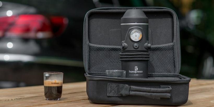 Handpresso Auto: La primera máquina de café espresso para el autos