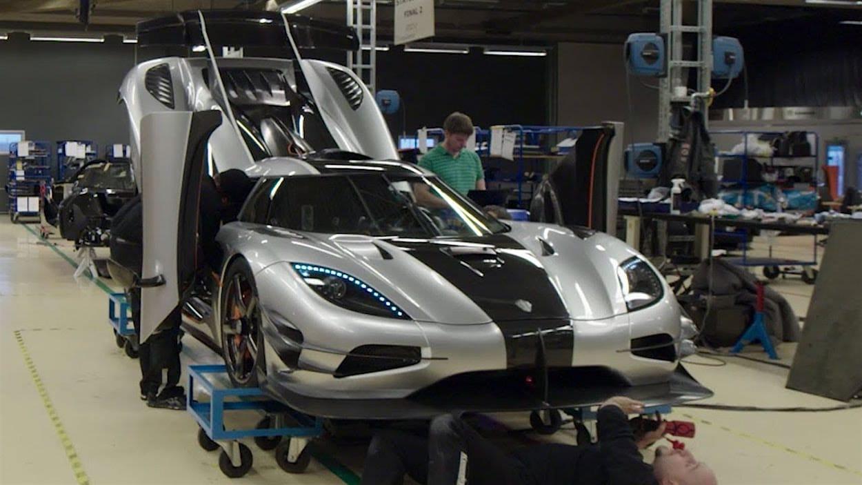 Visita la fabrica de Koenigsegg y mira cómo se fabrica un Agera One1