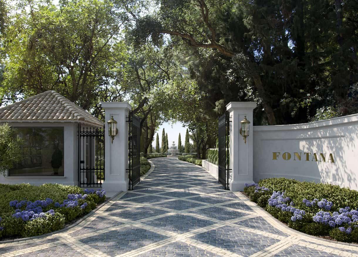 El promotor internacional Pacific Investments PLC presenta en Marbella Fontana, cinco villas diseñadas por Torras & Sierra