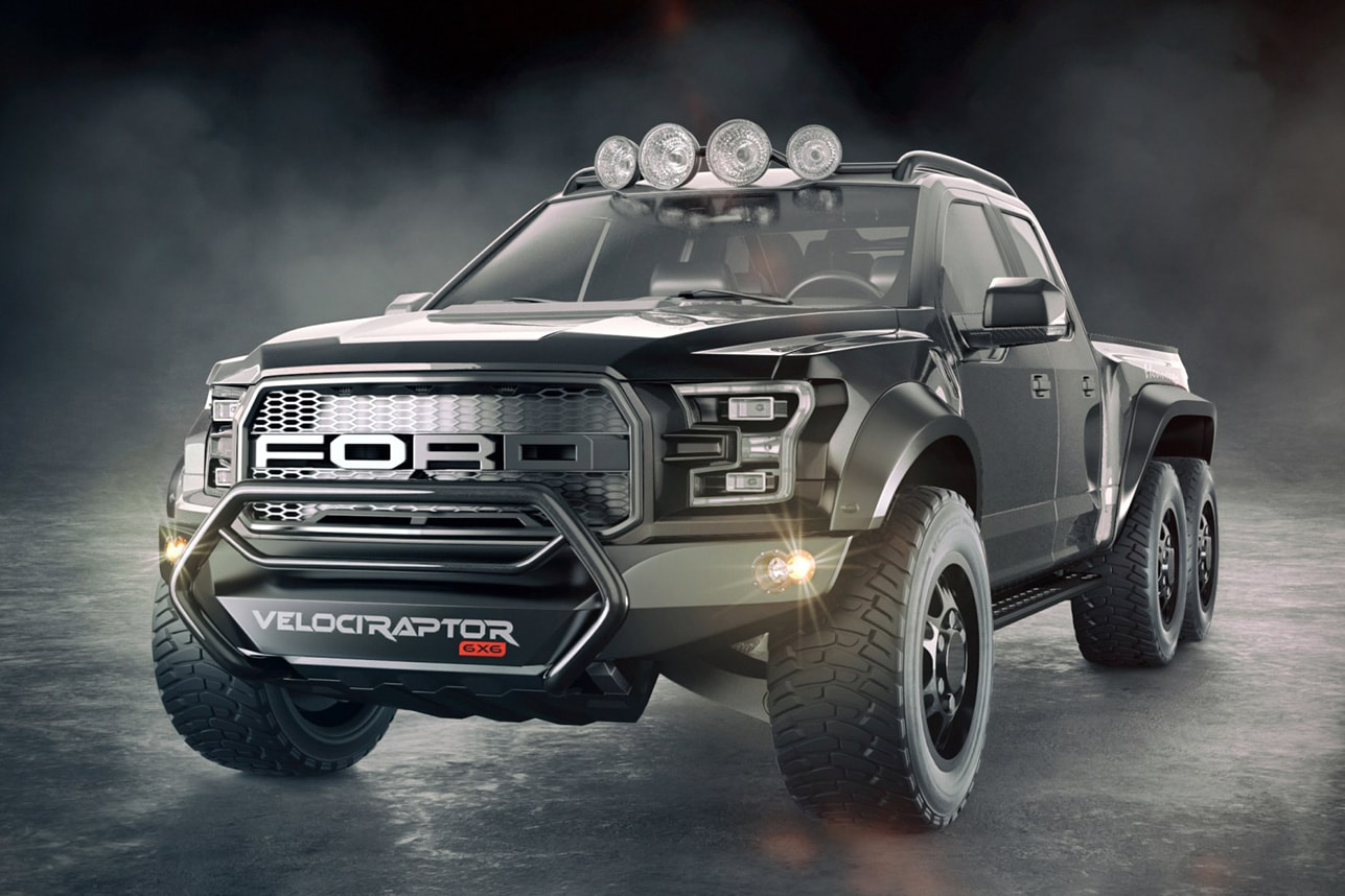 Bestial camioneta pick up Ford VelociRaptor 6×6 por Hennessey Performance